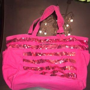 Victoria Secret shoulder/  Tote bag